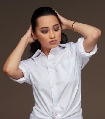 Haina Uddin makeup look