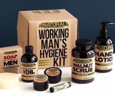 mens hygiene kit